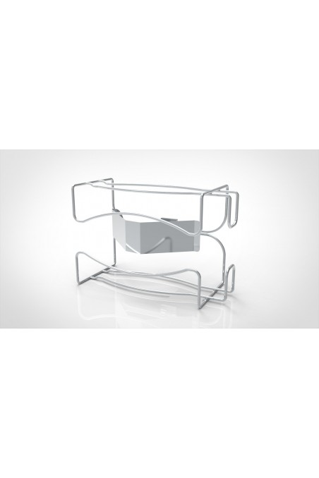 Glove and Wet Wipe holder, Stainless Steel. JB 800-00-00