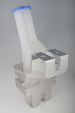 Hygienic Universal bulb-holder in stainless steel. JB 92-00-00 by JB Medico