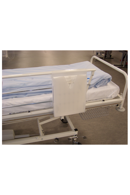 Hospital Journals holder in hard frosted plastic . JB 115-00-00
