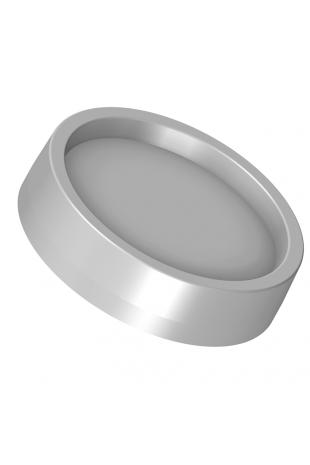 JBM Dækprop for skruehul, grå ABS plastik. JBM 101-00-10