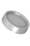JBM Dækprop for skruehul, grå ABS plastik