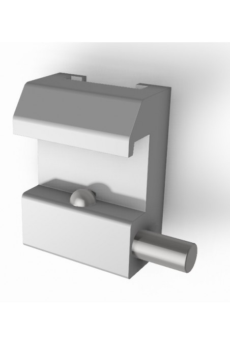 Slide clamp half model, with one ball clasp and T-slot. JB 146-00-00 by Jb Medico